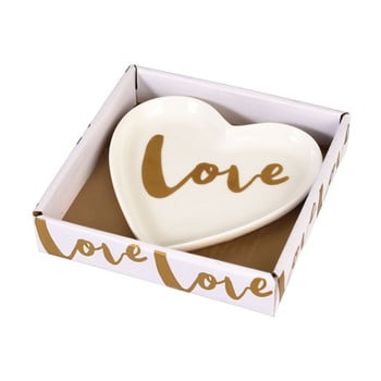 Farfurie decorativă din porțelan Rex London Love Heart imagine