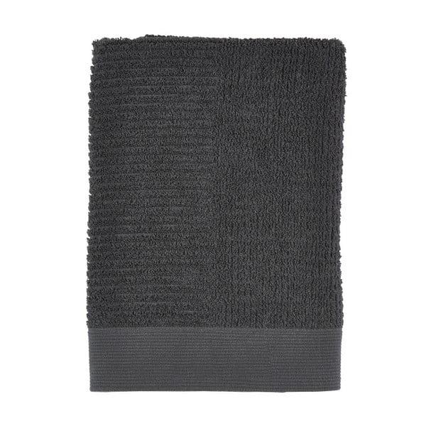 Černá osuška Zone Nova, 70x140cm