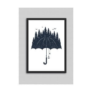 Obraz North Carolina Scandinavian Home Decors Rain, 33 x 43 cm
