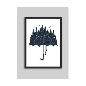 Tablou North Carolina Scandinavian Home Decors Rain, 33 x 43 cm de la North Carolina Scandinavian Home Decors