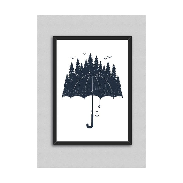 Obraz North Carolina Scandinavian Home Decors Rain, 33 x 43 cm