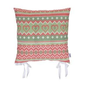 Vánoční podsedák Apolena Shine Knit, 43x43cm