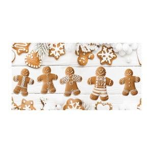 Kuchyňský běhoun Crido Consulting Festive Gingerbreads, délka 100 cm