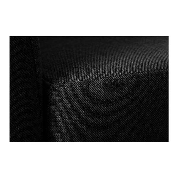 Černá pohovka pro dva Florenzzi Viotti