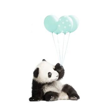 Autocolant pentru perete Dekornik Minty Panda imagine