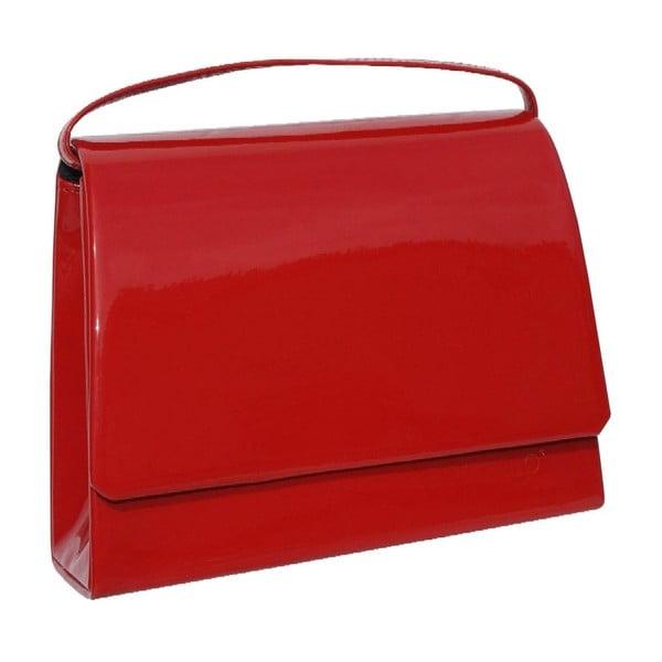 Kožená kabelka/psaníčko Boscollo Red 2870