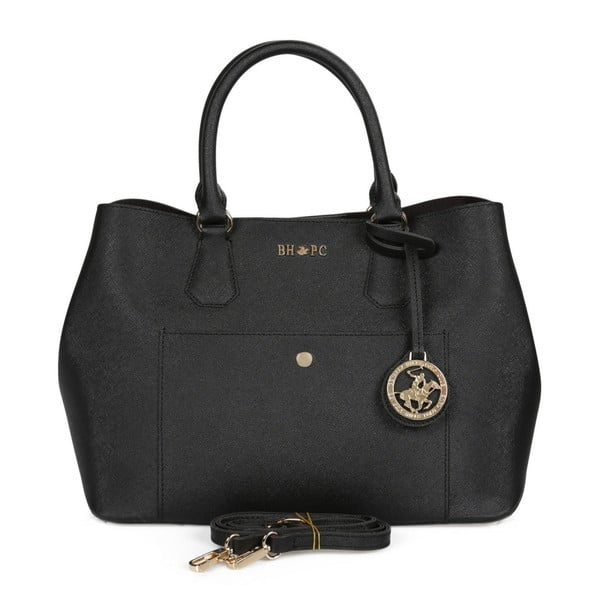 Černá kabelka Beverly Hills Polo Club Mona