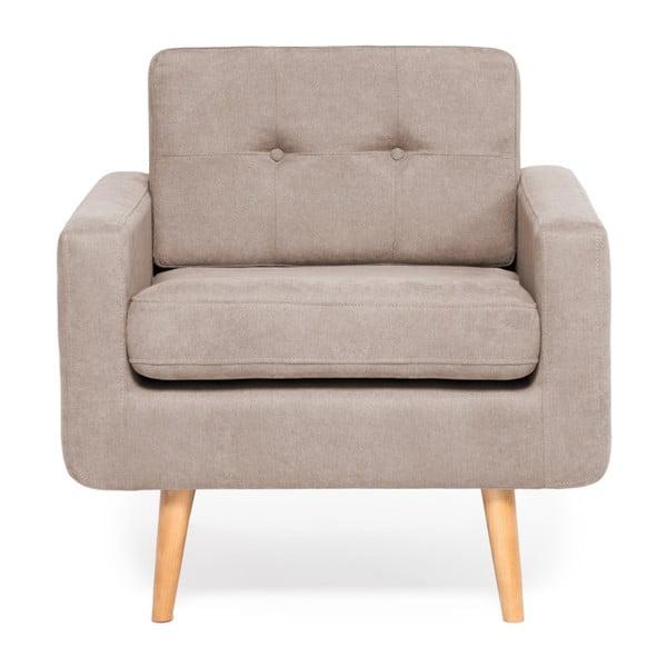 Ina antracitszürke fotel - Vivonita