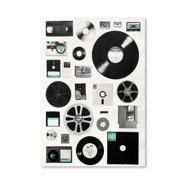Plakát Data od Florenta Bodart, 30x42 cm