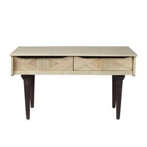 Konferenční stolek z masivního mangového dřeva Woodjam Gatsby Raw