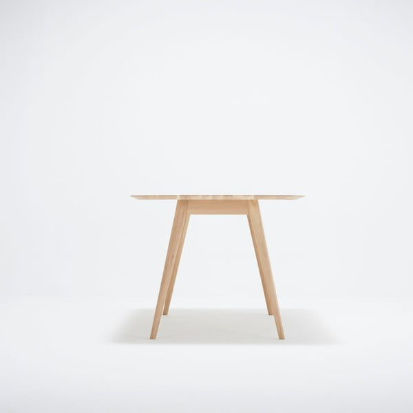 Jídelní stůl z dubového dřeva Gazzda Stafa, 160x90x75,5cm
