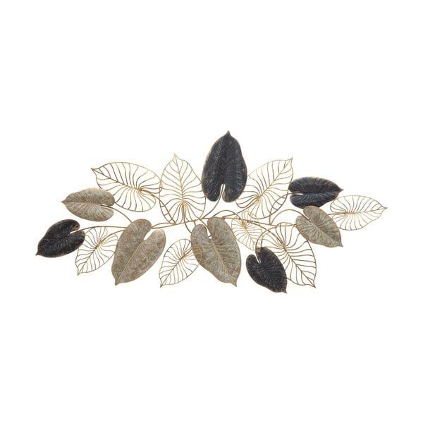 Kovová závěsná dekorace se vzorem listů MauroFerretti Century-A-, 131x61cm