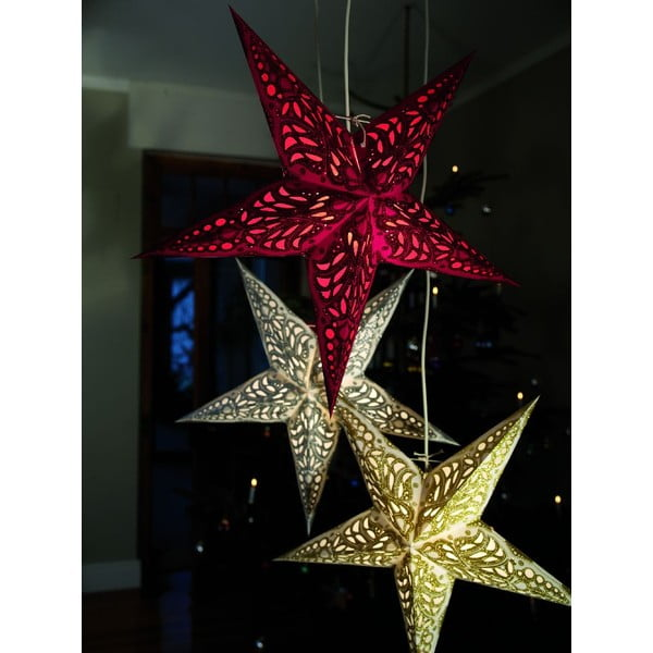 Dekorativní hvězda Swati, 60 cm