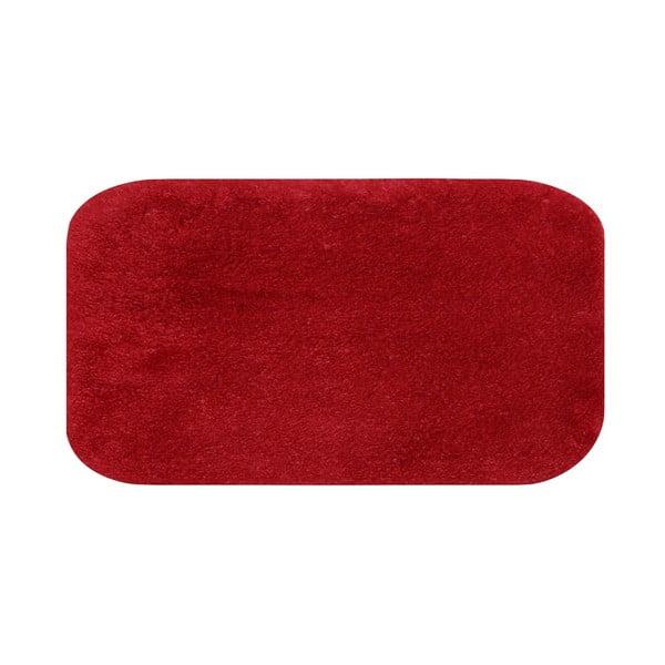 Confetti Miami piros fürdőszobai kilépő, 57 x 100 cm