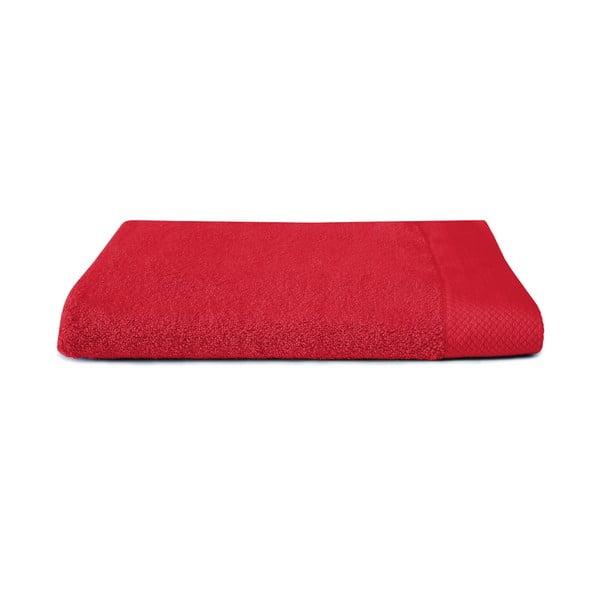 Červená osuška Seahorse Pure, 70x140cm