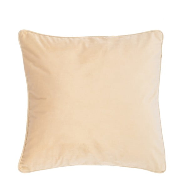 Pískově hnědý polštář Tiseco Home Studio Velvety, 45x45cm
