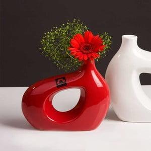 Váza Marna 21 cm, červená