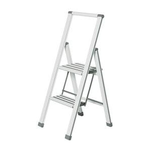 Scără pliantă Wenko Ladder Alu, 101 cm, alb
