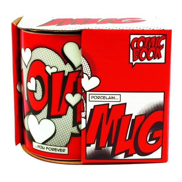Hrnek Comic Book Love, 325 ml