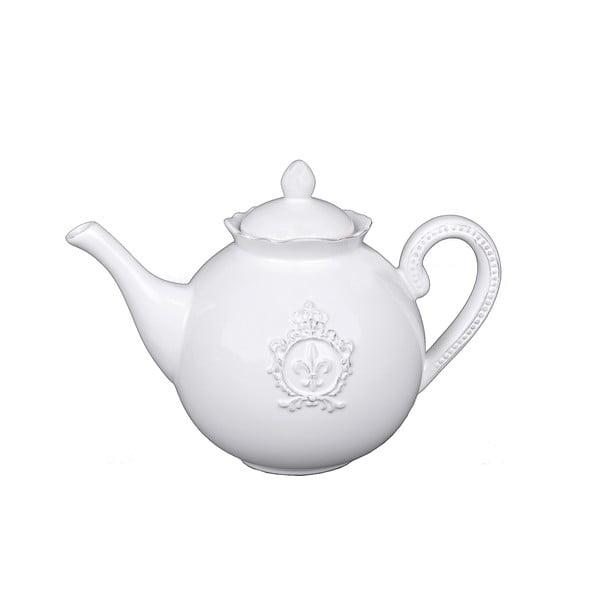 Biały dzbanek do herbaty Ego Dekor Vintage, 1,22 l