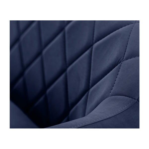 Canapea pentru 3 persoane Scandi by Stella Cadente Maison Diva, albastru