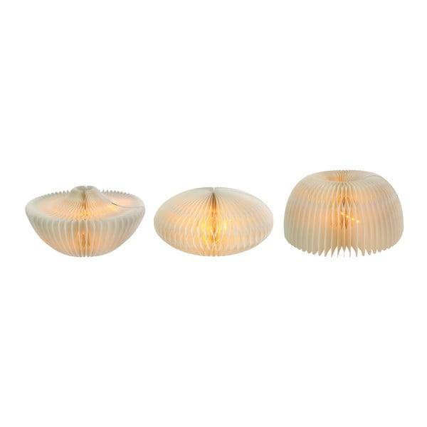 Papírová skládací stolní lampa Le Studio Abracadabra Kraft