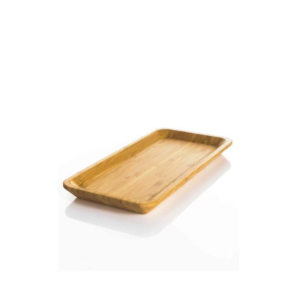 Tavă mică din bambus Bambum Espresso