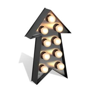 Volně stojící světelná dekorace Glimte Lamp Floor Strzalka