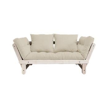 Canapea extensibilă Karup Design Beat Natural/Beige de la Karup Design