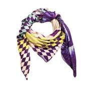 Vlněný šátek s kašmírem Tropical, 130x130 cm