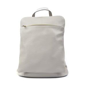 Šedý kožený batoh Isabella Rhea Hurto