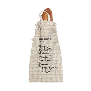 Săculeț textil pentru pâine Linen Couture Bag Shopping, înălțime 42 cm imagine