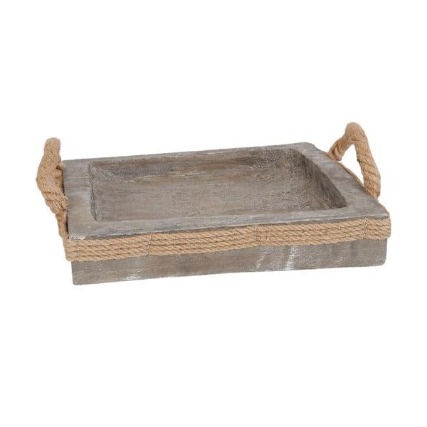 Dřevěný tác Clayre & Eef, 31x31 cm
