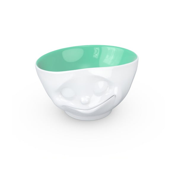 Bielo-nefritová porcelánová šťastná miska 58products