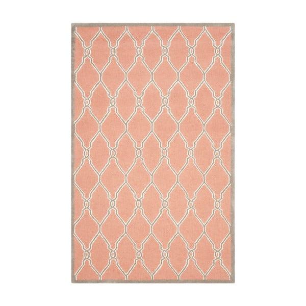 Augusta narancssárga szőnyeg, 91 x 152 cm - Safavieh