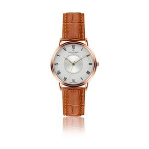 Pánské hodinky s koňakově hnědým páskem z pravé kůže Frederic Graff Rose Grand Combin Croco Ginger