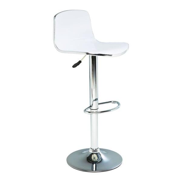 Sada 2 bílých barových stoliček Kare Design Dimensionale