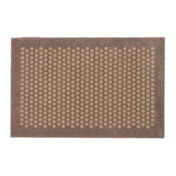 Hnědobéžová rohožka tica copenhagen Harmudo, 75 x 45 cm
