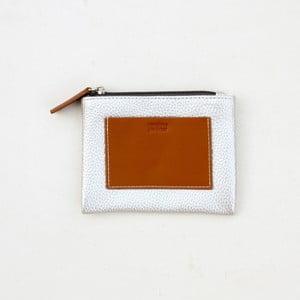 Taštička na drobné ve stříbrné barvě Caroline Gardner