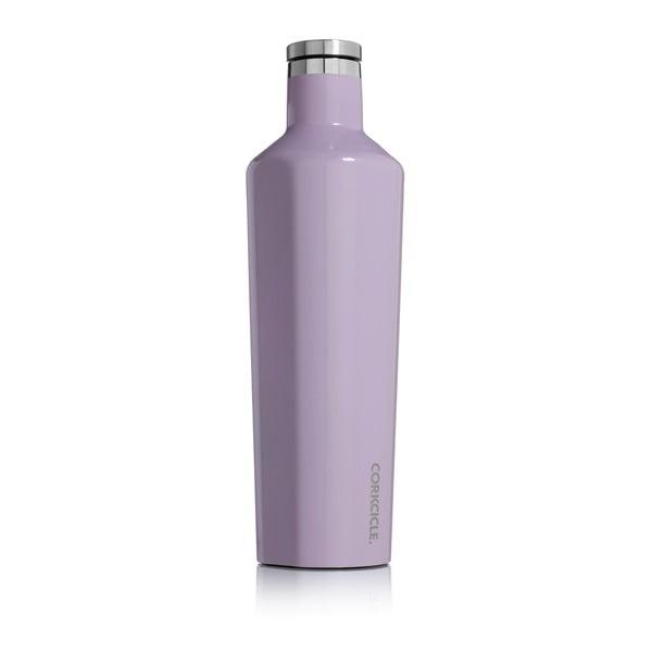 Termos din inox Corkcicle Canteen, 740 ml, violet