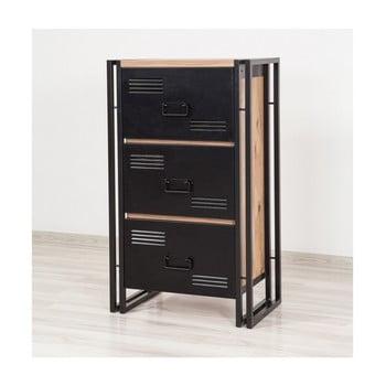 Dulap cu 3 sertare Selma, înălțime 97 cm