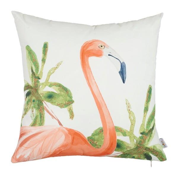 Povlak na polštář Apolena Flamingo Paradiso, 43x43cm