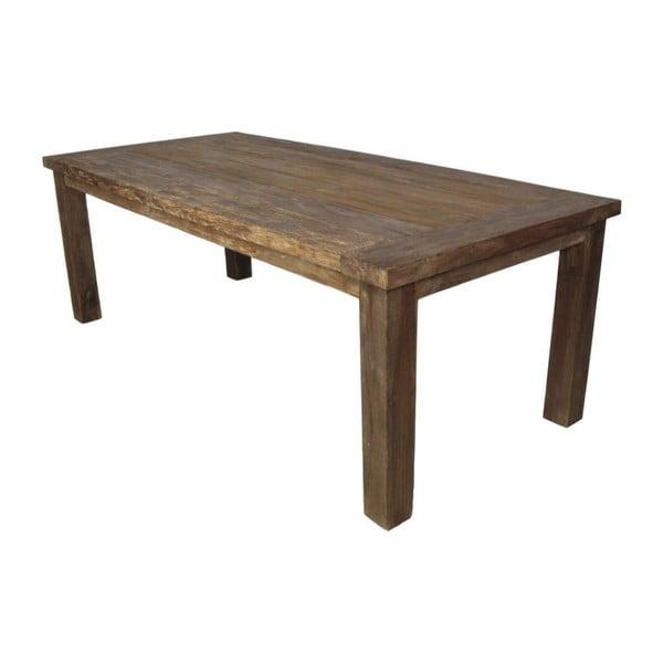 Jídelní stůl z teakového dřeva HSM collection Napoli, 180 x 100 cm