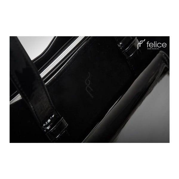 Kabelka Felice Grande Black Suede