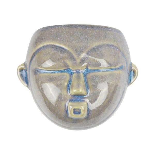 Mask szürke fali virágtartó, 18,1 x 14,5 cm - PT LIVING
