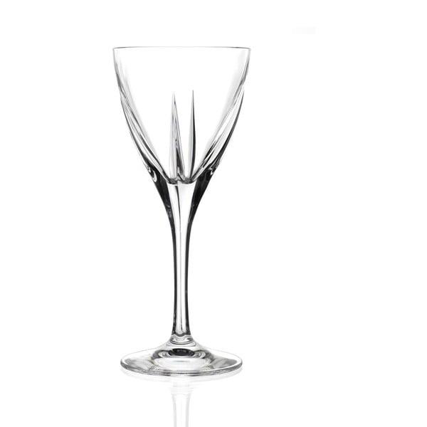 Zestaw 6 kieliszków do wina RCR Cristalleria Italiana Lorenzo, 250 ml
