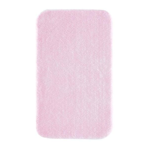 Světle růžová předložka do koupelny Confetti Bathmats Miami, 80x140cm
