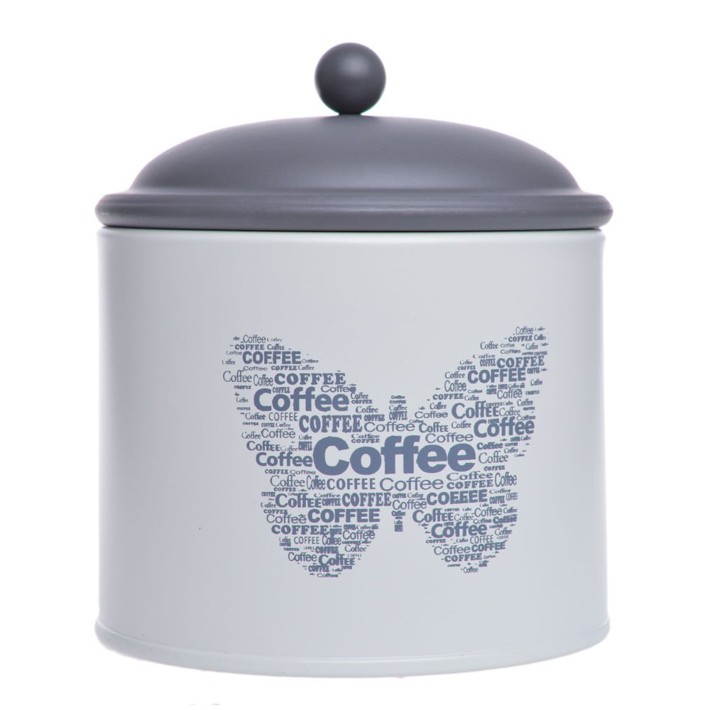 Dóza na kávu Ewax Coffee Can Butterfly, 11 x 13 cm