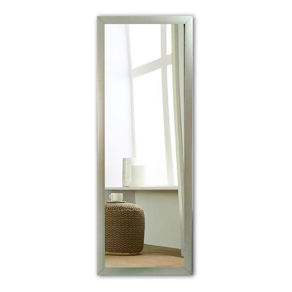 Nástěnné zrcadlo s rámem ve stříbrné barvě Oyo Concept, 40 x 105 cm