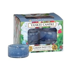 Sada 12 vonných svíček Yankee Candle Květy ze zahrádky, doba hoření 4 - 6 hodin